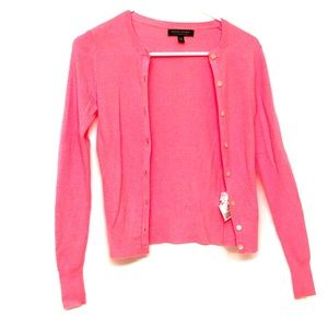 NWOT Banana Republic XS hot pink coral sweater